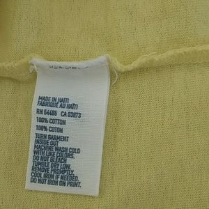American Eagle Outfitters Shirts - NWT American Eagle Yellow Logo Graphic Tee